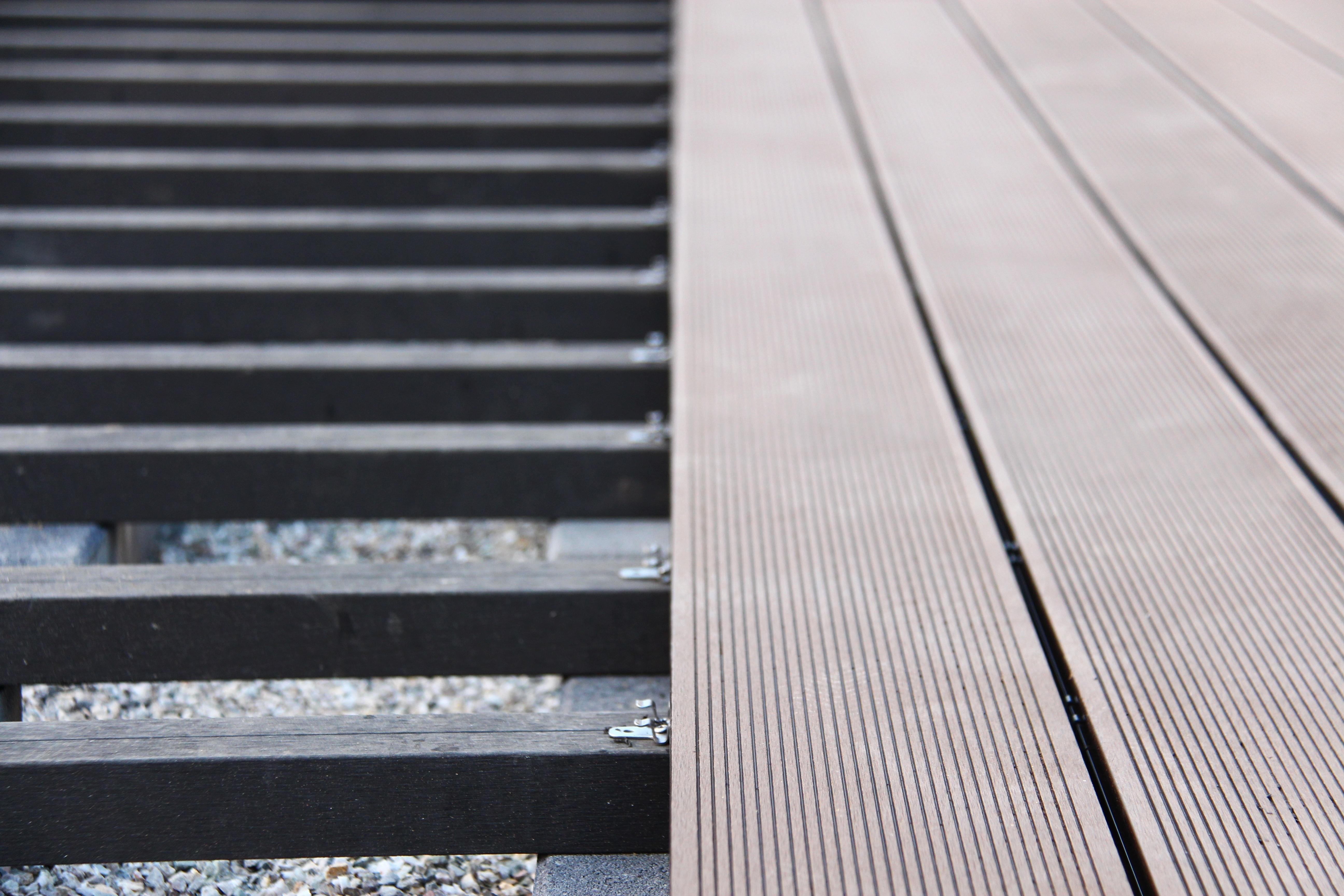 Materialbedarf berechnen WPC Terrasse