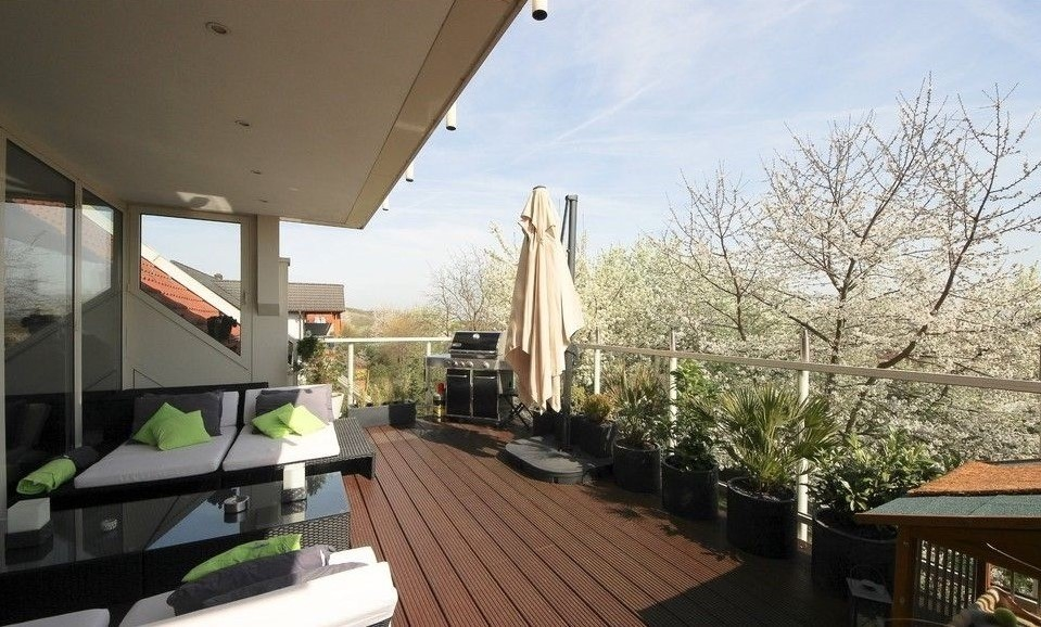 WPC für den Balkon