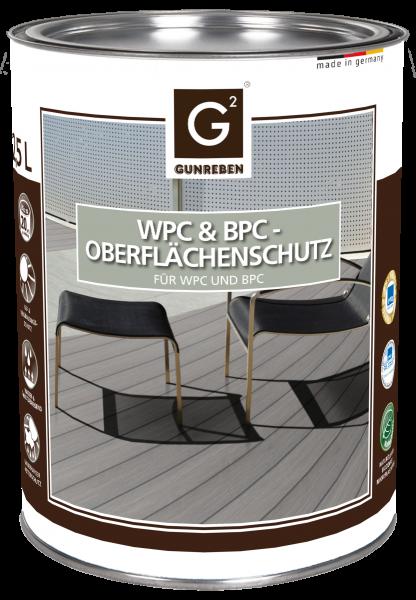 Gunreben WPC Oberflächenschutz, Kanister mit 2,5 Liter, ausreichend für ca. 20-40 m²