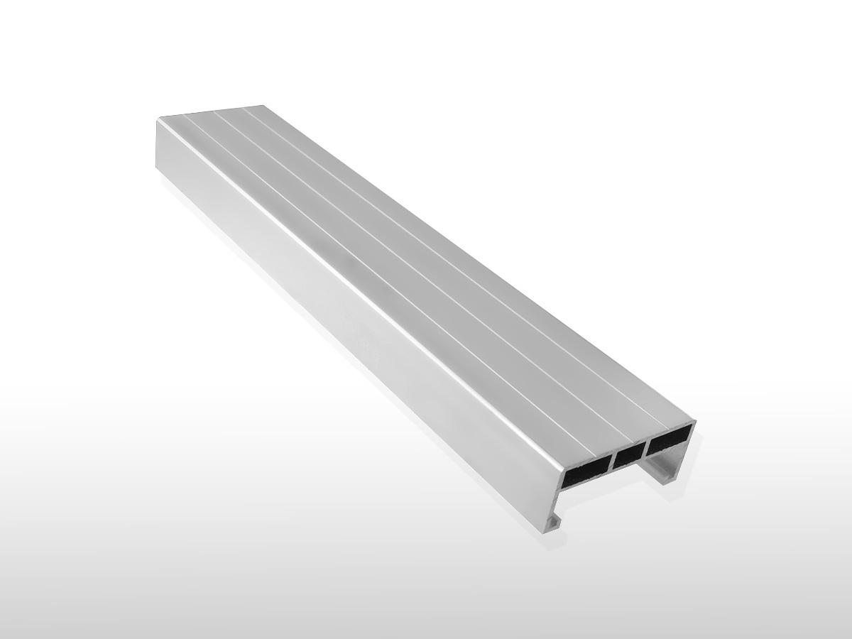 Aluminium Unterkonstruktions-Profil ca. 24 x 58 x 4000 mm für 5,90 €/m