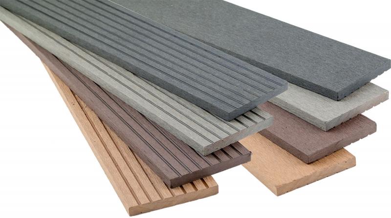 WPC Flachleiste farblich passend zur Decklage 10 x 80 x 2900 mm