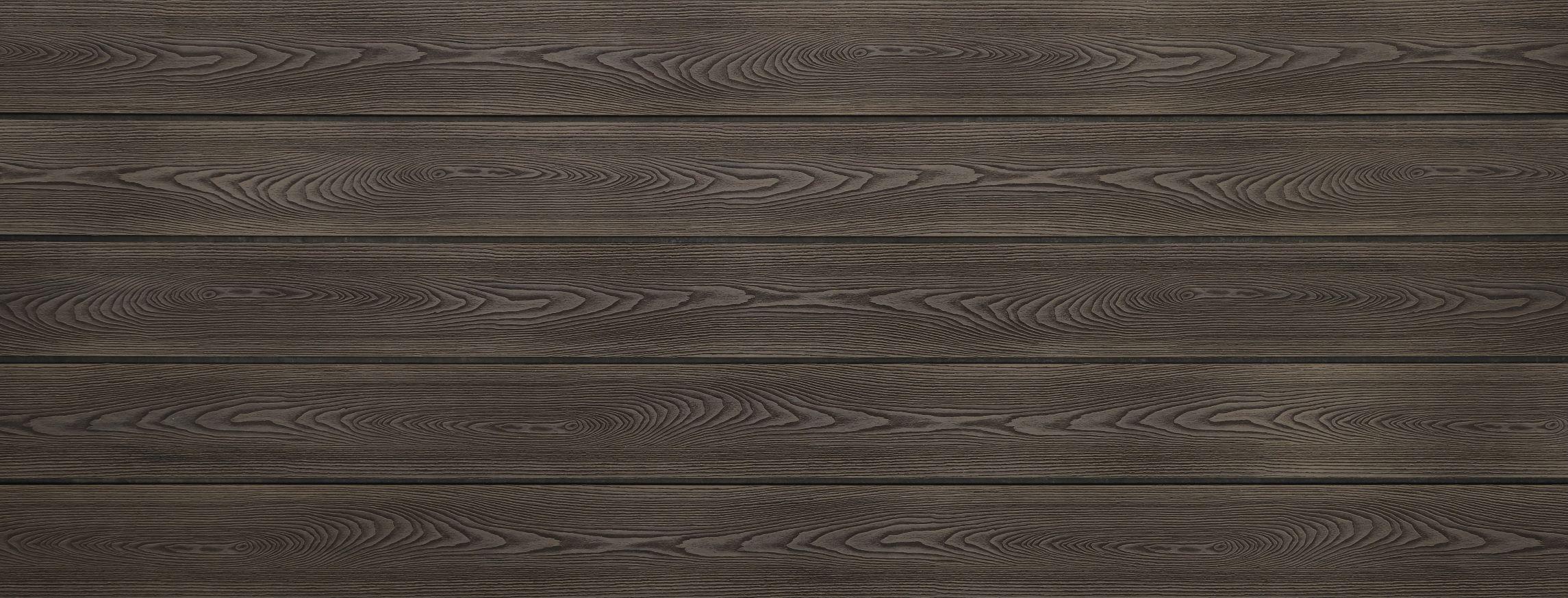 WPC Terrasse massiv, bicolor Thermoesche, Oberfläche mit Struktur in Holzoptik, 22 x 143 bis 4800 mm, Vollprofil, 8,40 €/lfm
